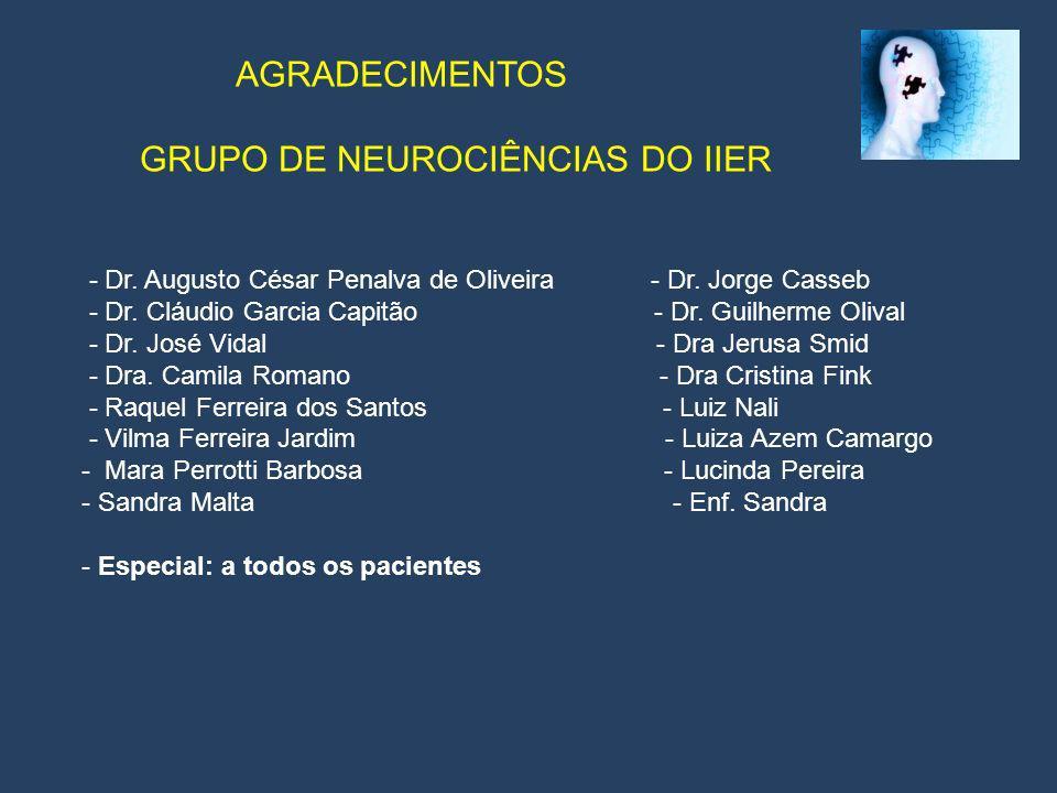 GRUPO DE NEUROCIÊNCIAS DO IIER