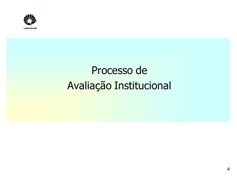 Avaliação Institucional