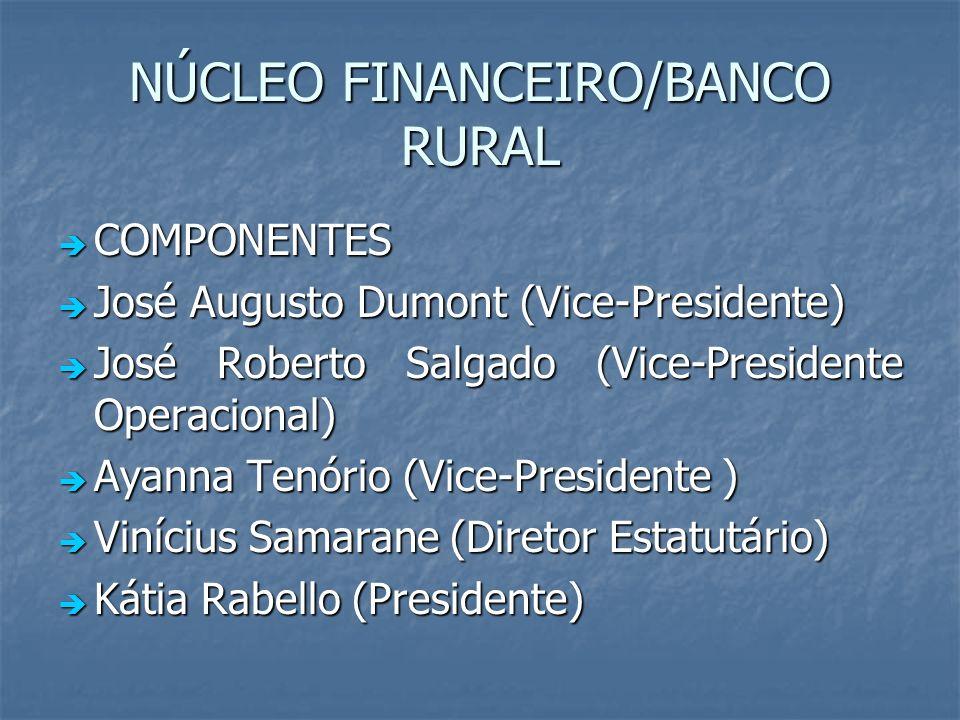 NÚCLEO FINANCEIRO/BANCO RURAL