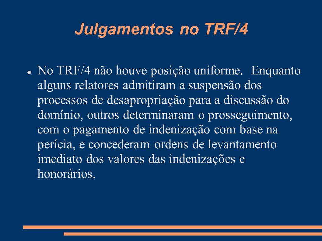 Julgamentos no TRF/4