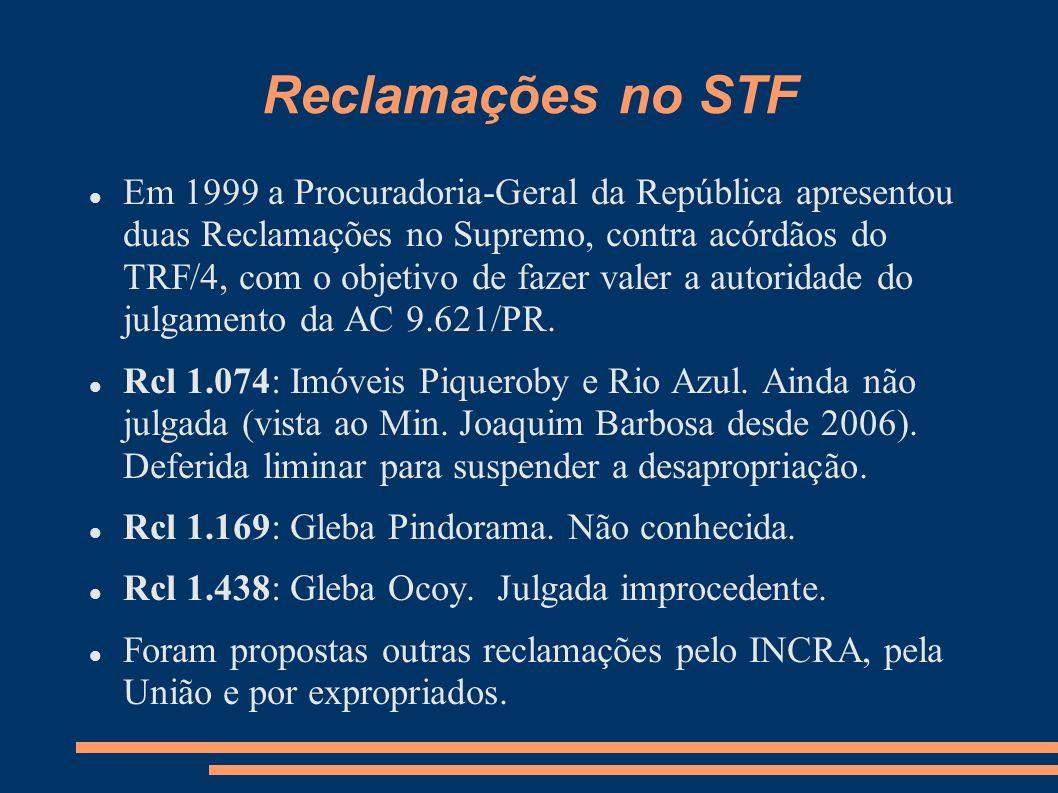 Reclamações no STF