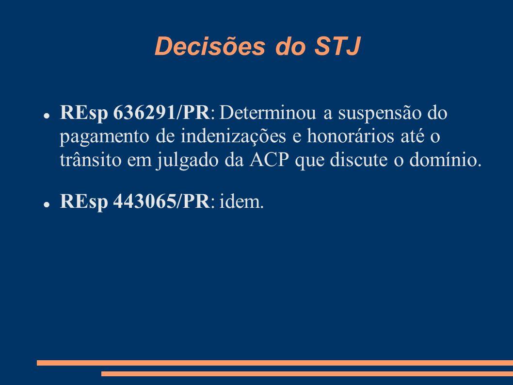 Decisões do STJ
