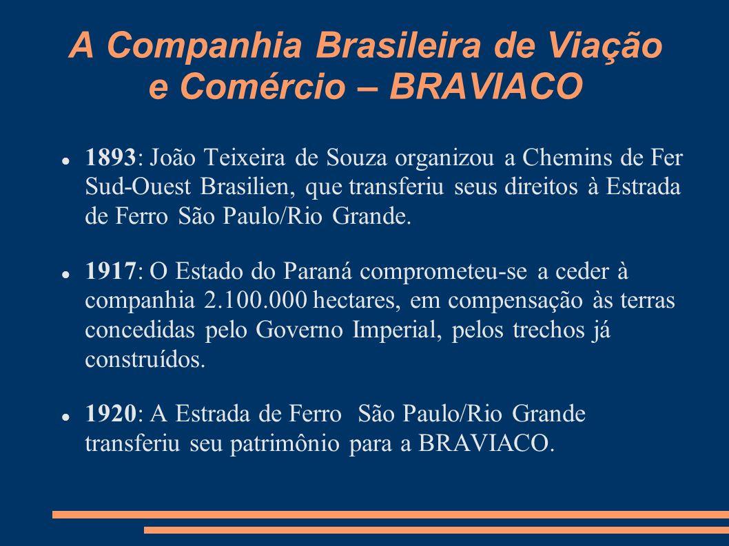 A Companhia Brasileira de Viação e Comércio – BRAVIACO