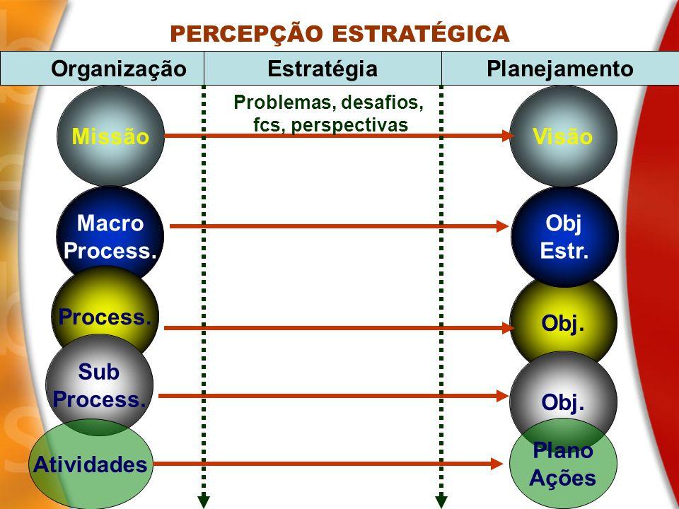 PERCEPÇÃO ESTRATÉGICA