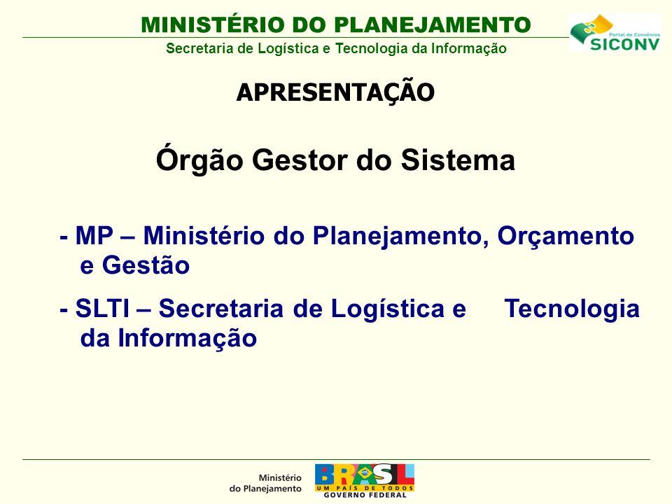 Órgão Gestor do Sistema