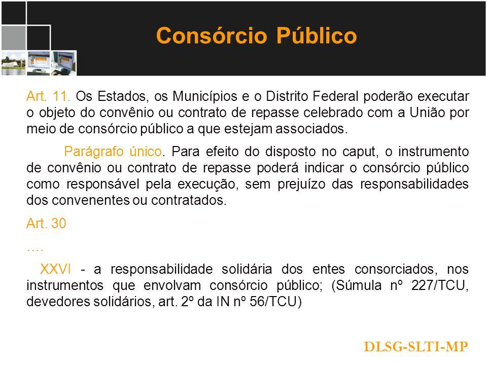 Consórcio Público DLSG-SLTI-MP