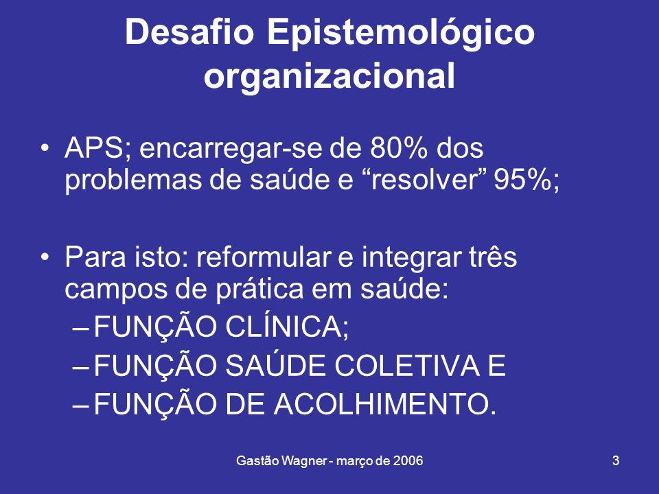 Desafio Epistemológico organizacional