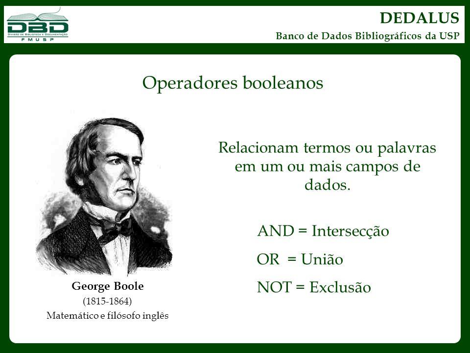 Operadores booleanos DEDALUS