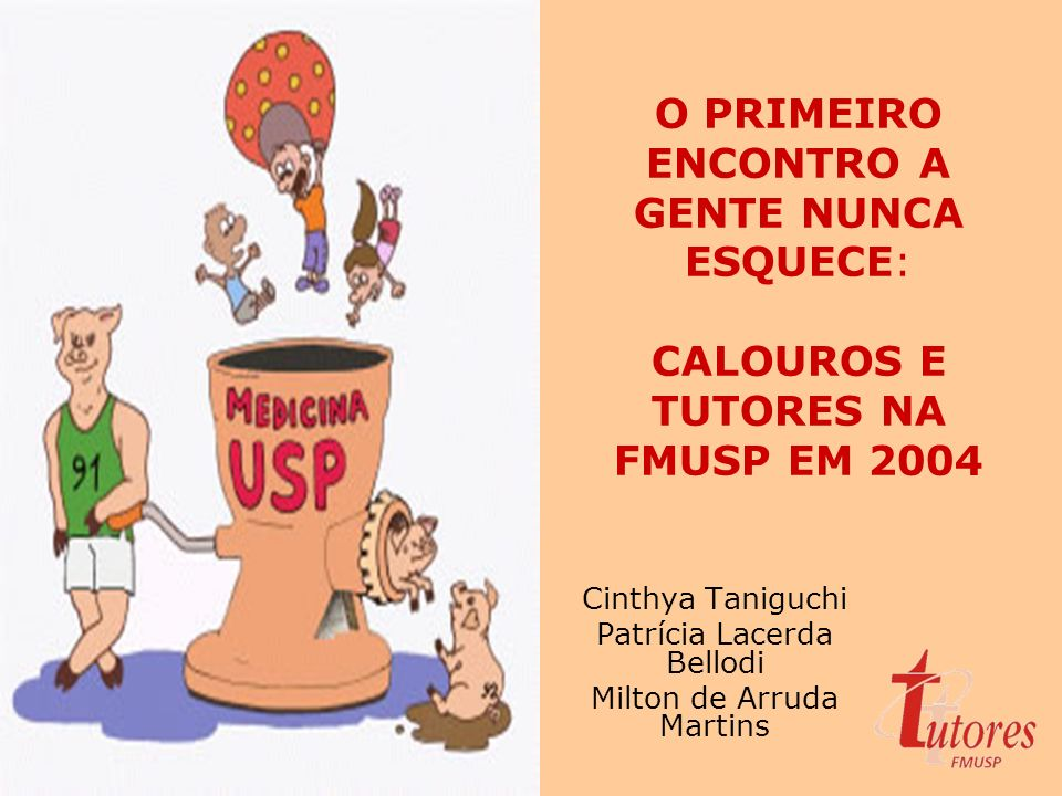Cinthya Taniguchi Patrícia Lacerda Bellodi Milton de Arruda Martins