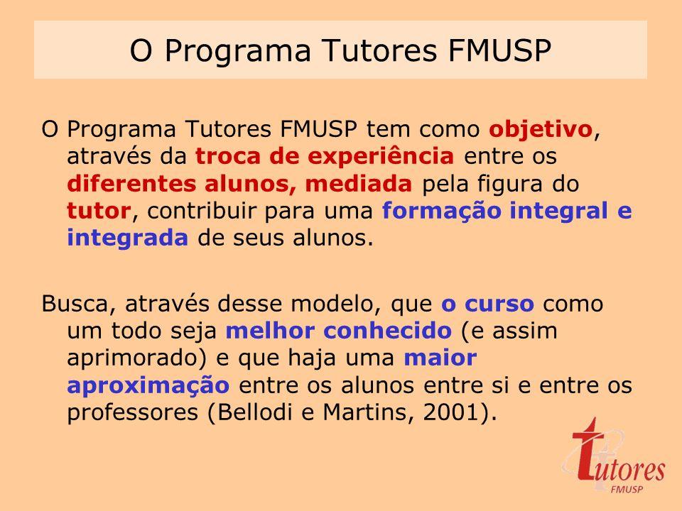 O Programa Tutores FMUSP