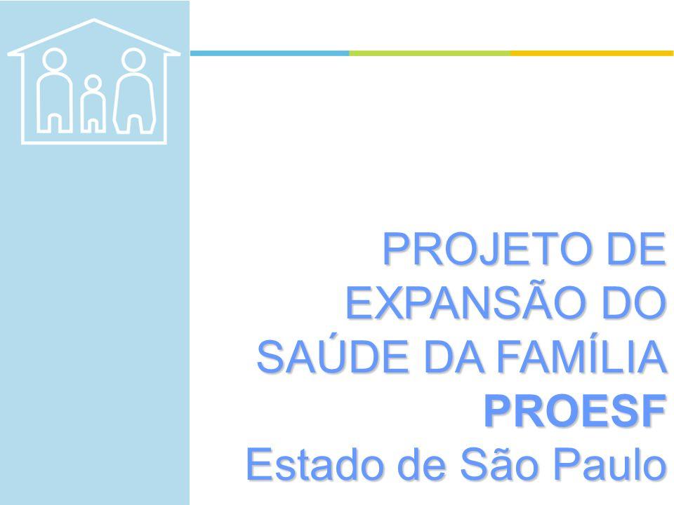 PROJETO DE EXPANSÃO DO SAÚDE DA FAMÍLIA PROESF
