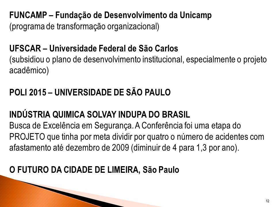 FUNCAMP – Fundação de Desenvolvimento da Unicamp
