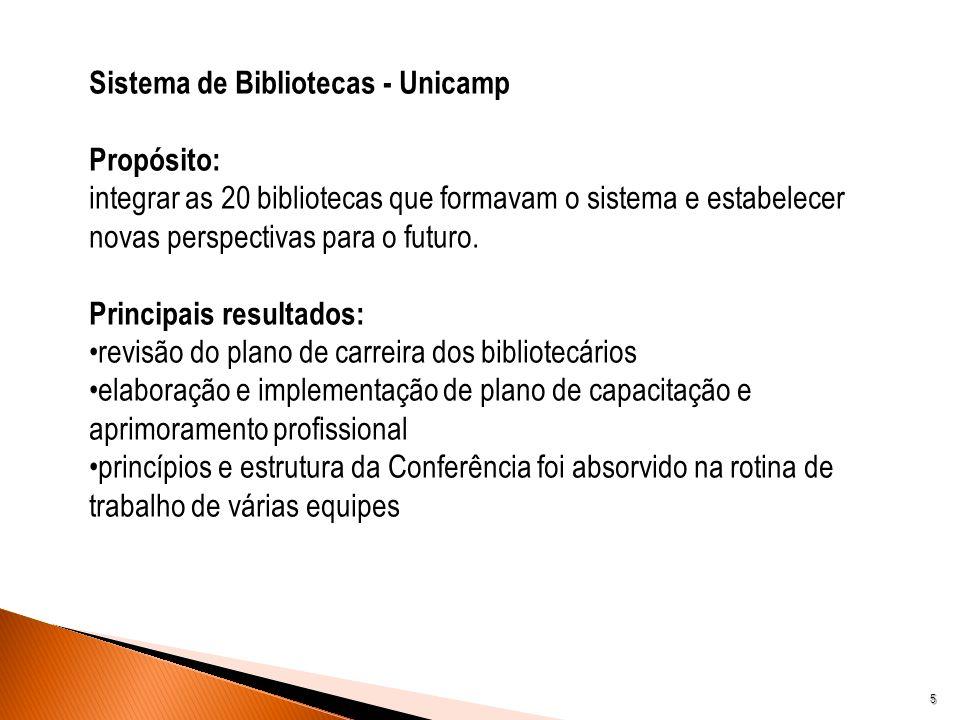 Sistema de Bibliotecas - Unicamp