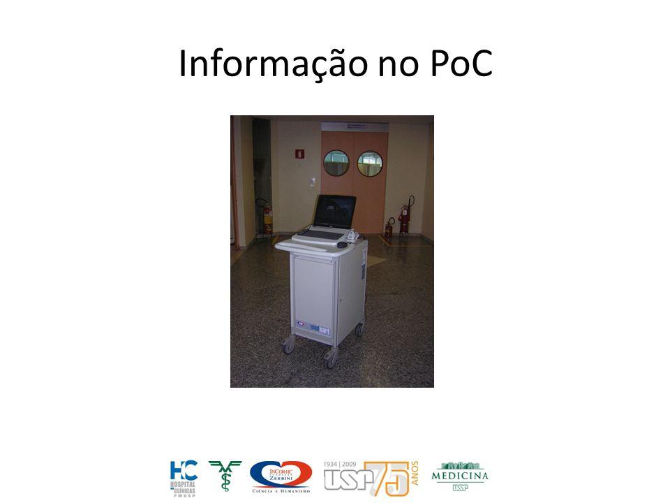 Informação no PoC