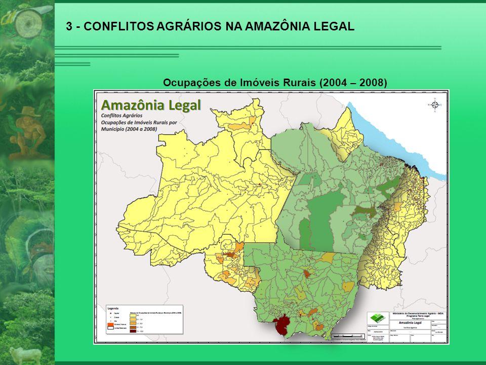 3 - CONFLITOS AGRÁRIOS NA AMAZÔNIA LEGAL