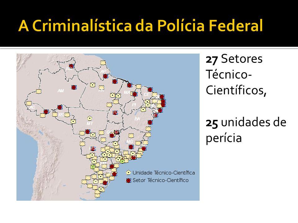 A Criminalística da Polícia Federal