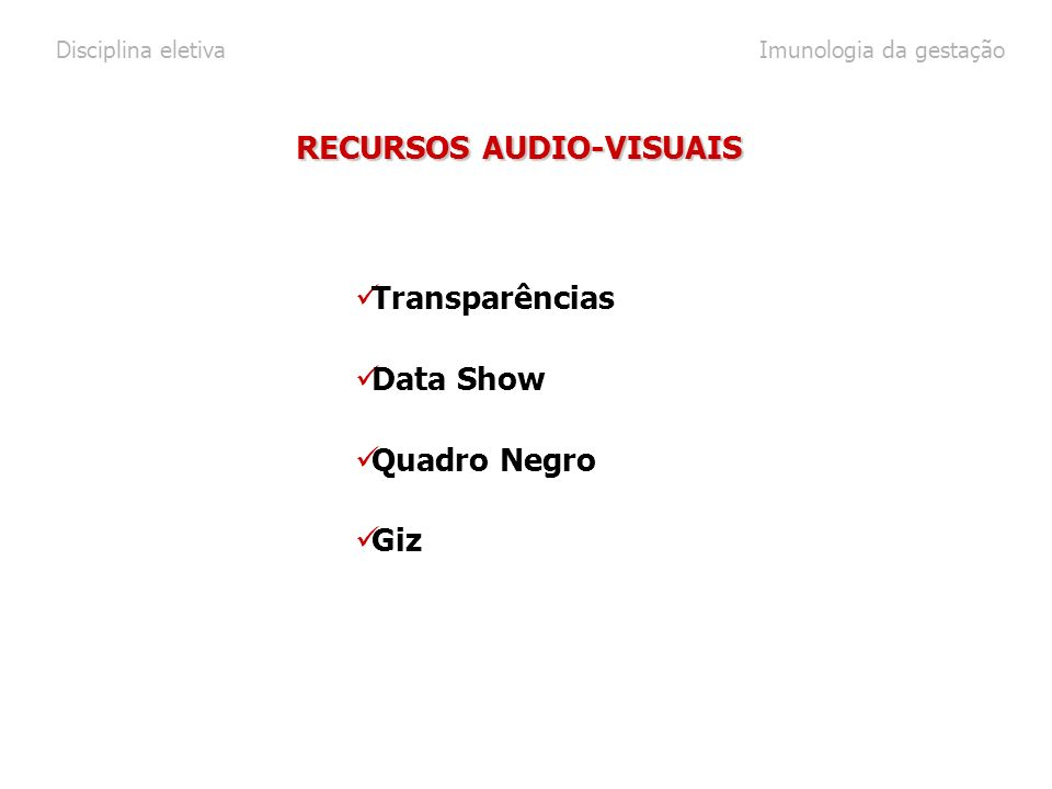RECURSOS AUDIO-VISUAIS