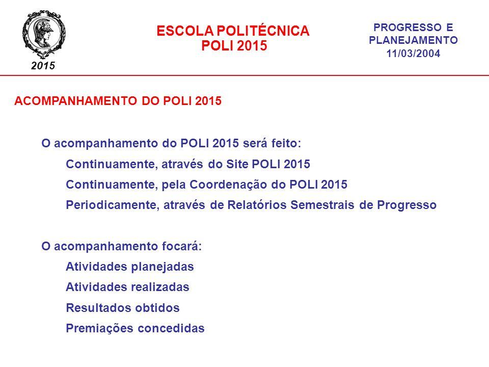 ACOMPANHAMENTO DO POLI 2015