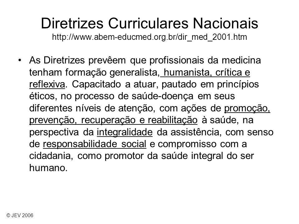 Diretrizes Curriculares Nacionais http://www. abem-educmed. org