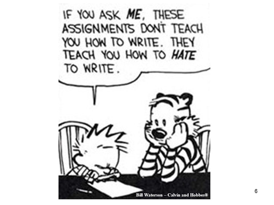 Bill Waterson – Calvin and Hobbes®