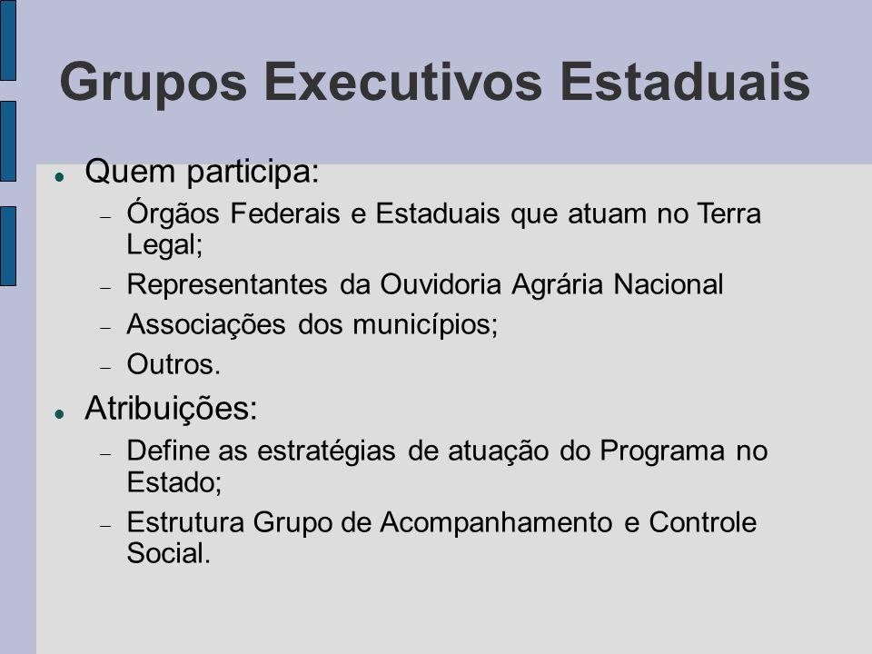 Grupos Executivos Estaduais