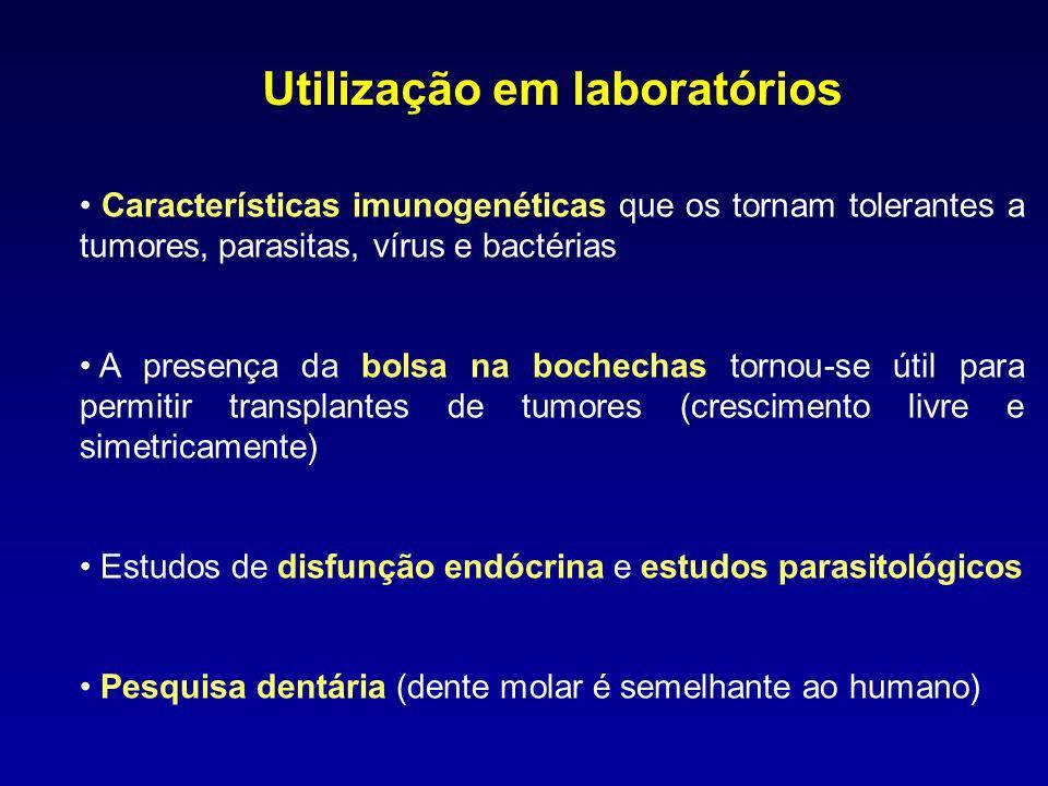 Utilização em laboratórios