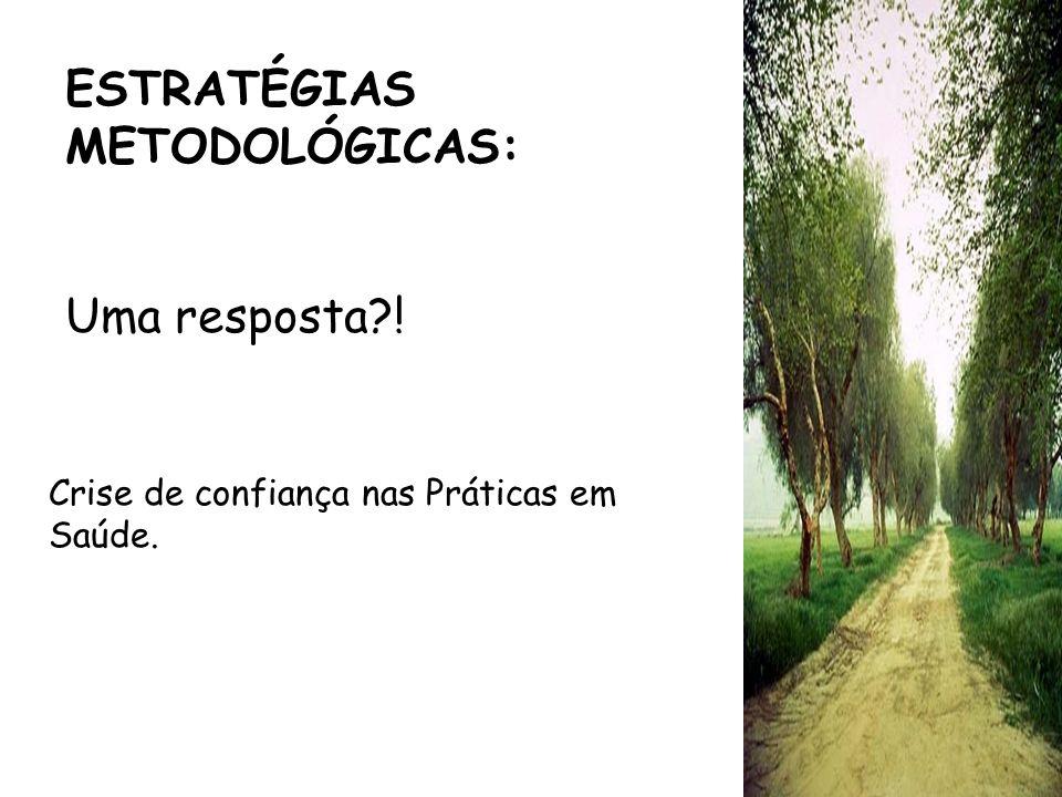 ESTRATÉGIAS METODOLÓGICAS: