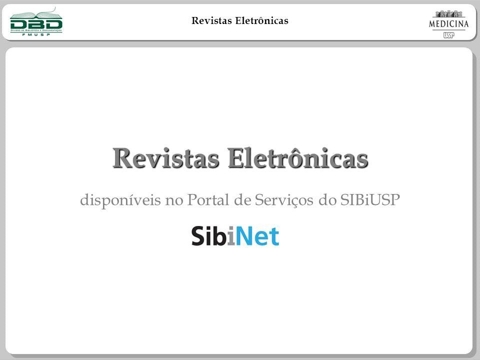 disponíveis no Portal de Serviços do SIBiUSP