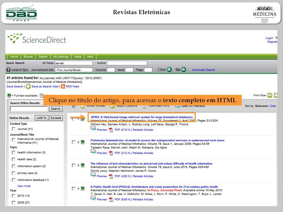 Clique no título do artigo, para acessar o texto completo em HTML