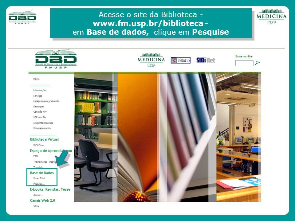 www.fm.usp.br/biblioteca -