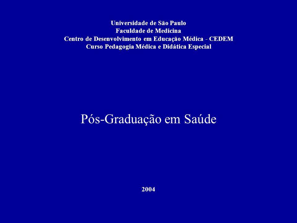 Pós-Graduação em Saúde