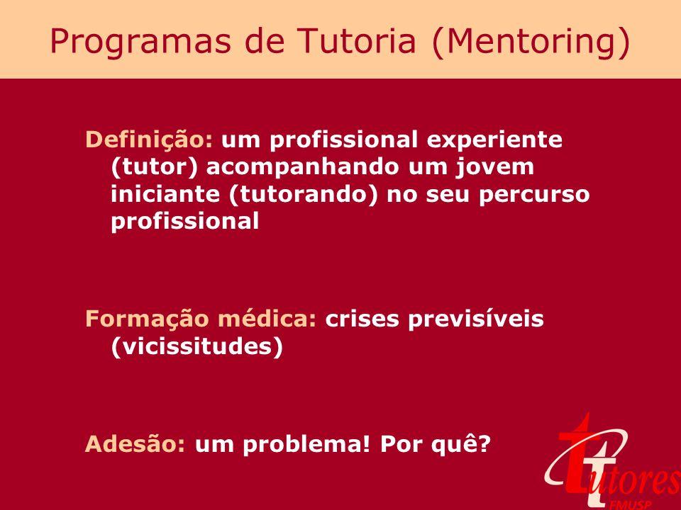 Programas de Tutoria (Mentoring)
