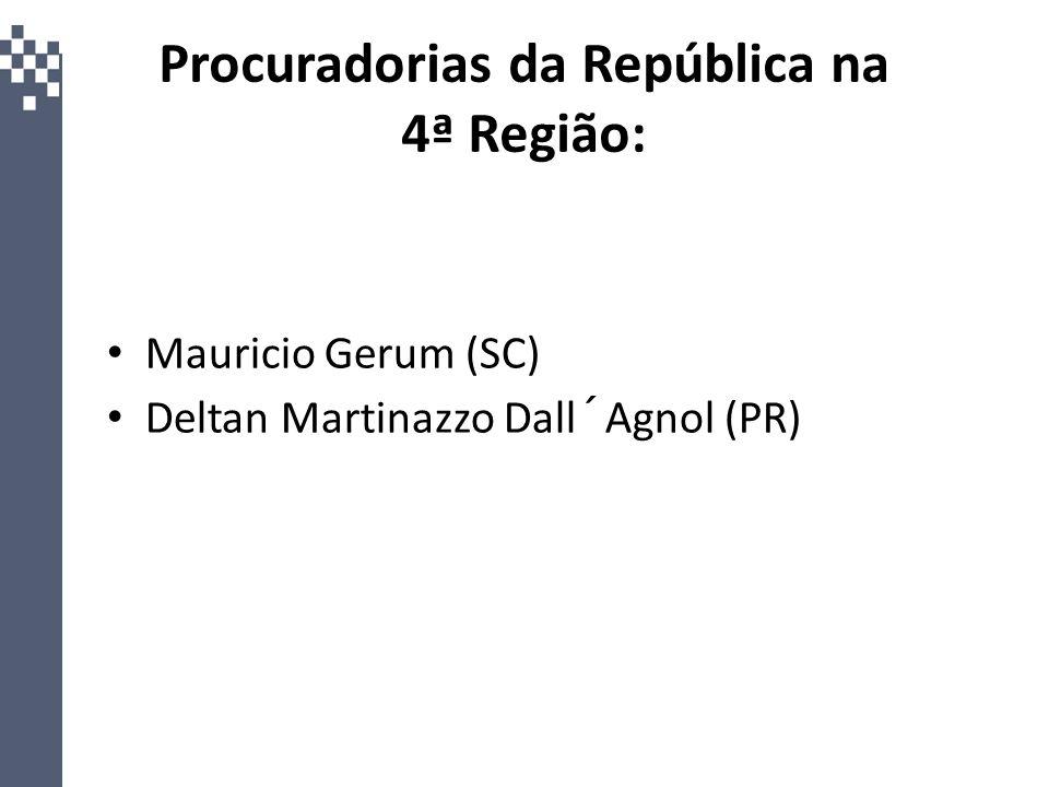 Procuradorias da República na 4ª Região: