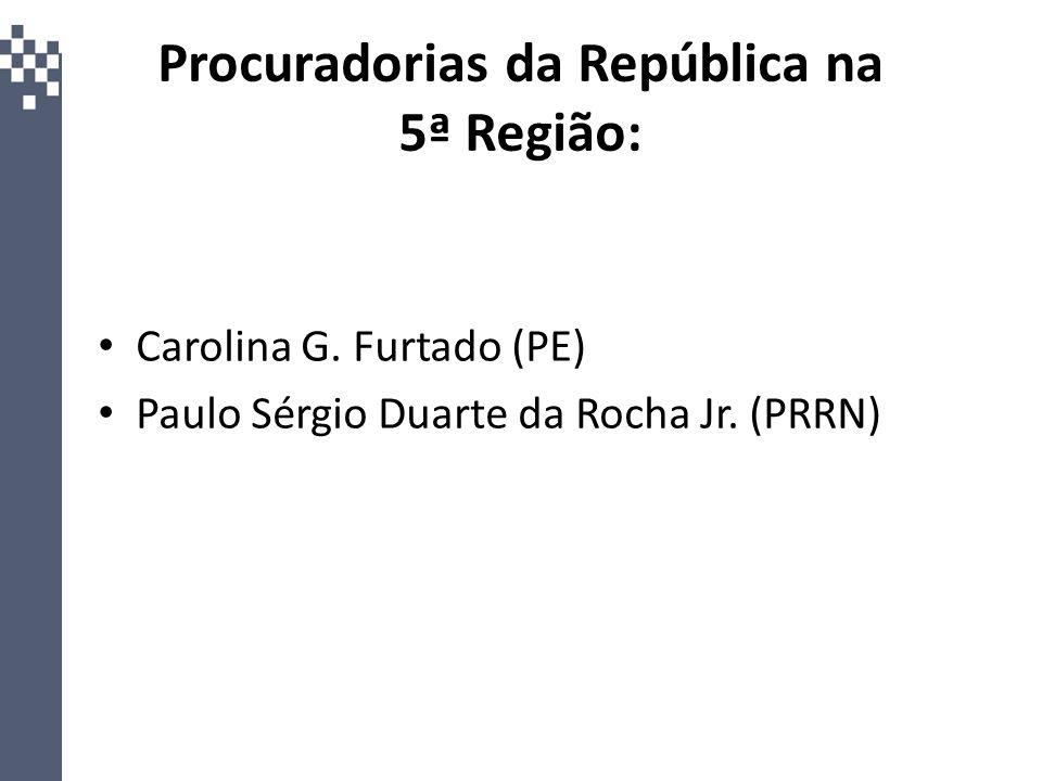 Procuradorias da República na 5ª Região: