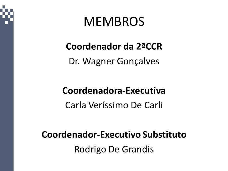 Coordenadora-Executiva Coordenador-Executivo Substituto