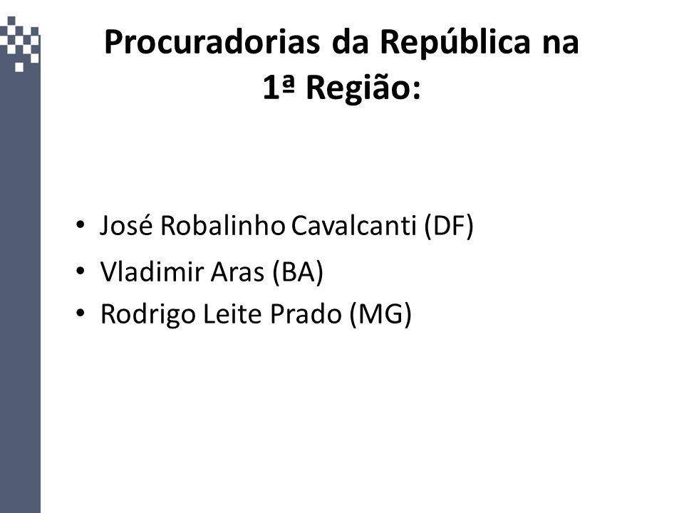 Procuradorias da República na 1ª Região: