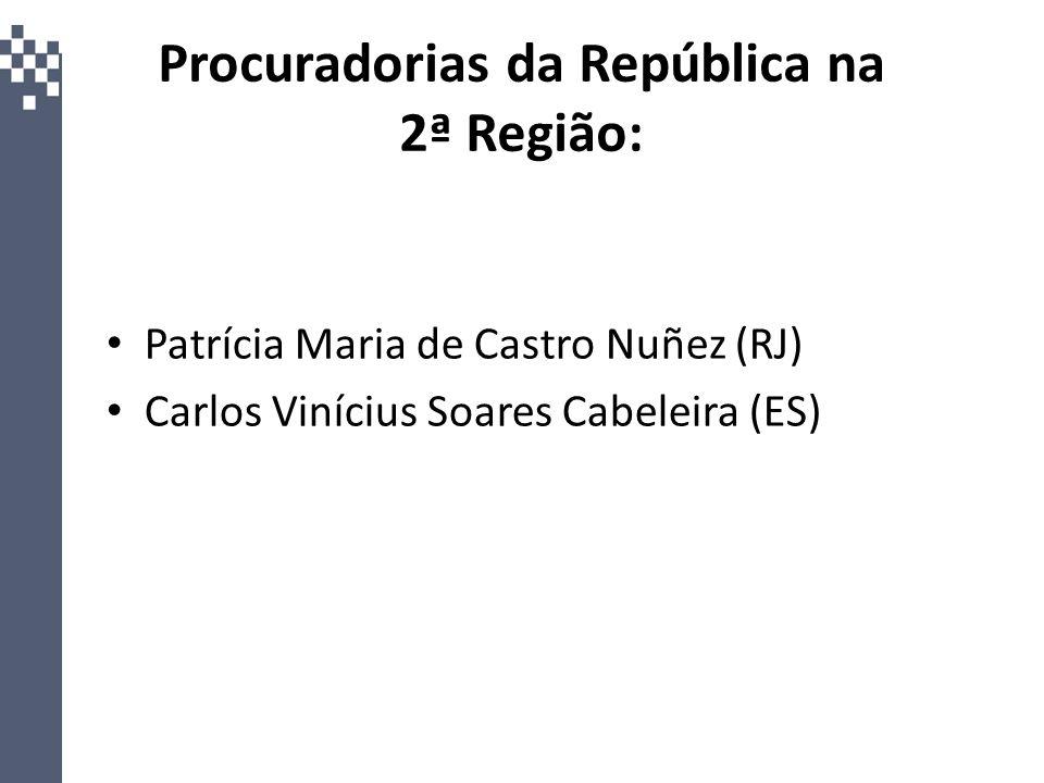 Procuradorias da República na 2ª Região: