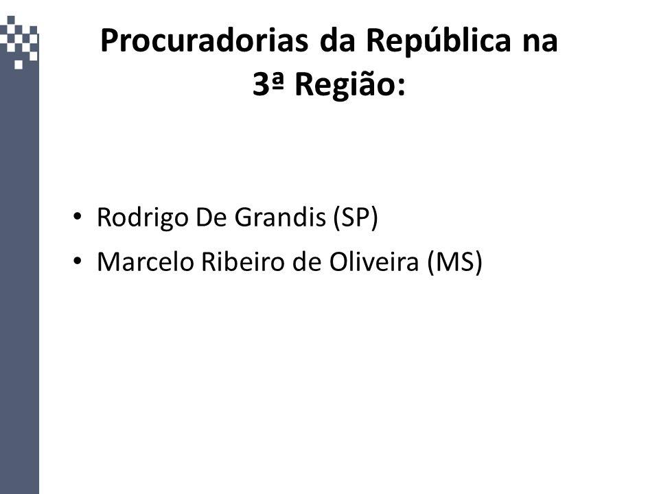 Procuradorias da República na 3ª Região: