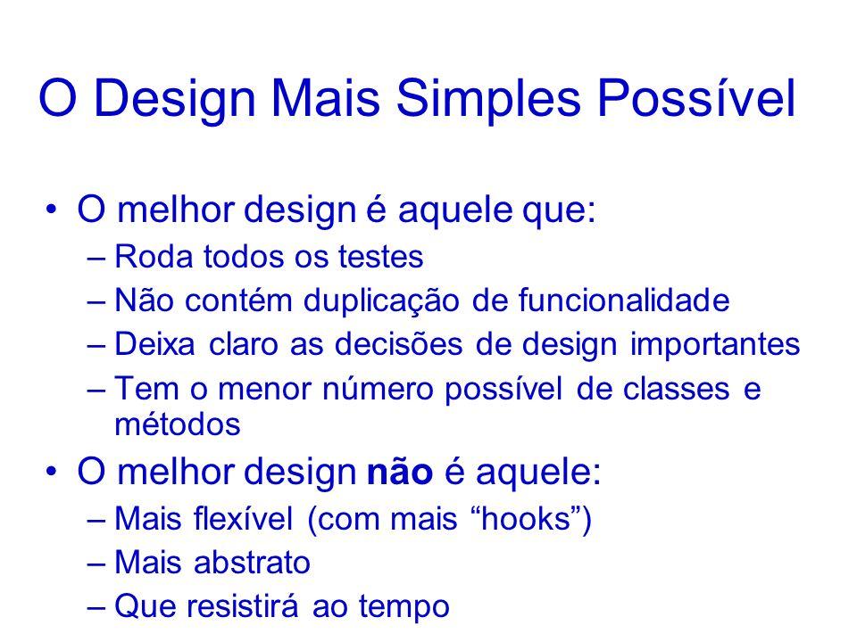 O Design Mais Simples Possível