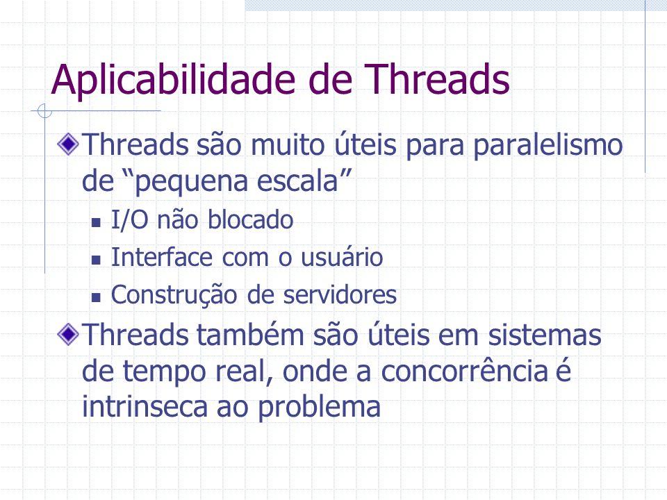 Aplicabilidade de Threads
