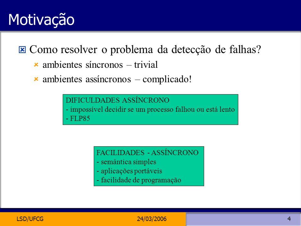 Motivação Como resolver o problema da detecção de falhas