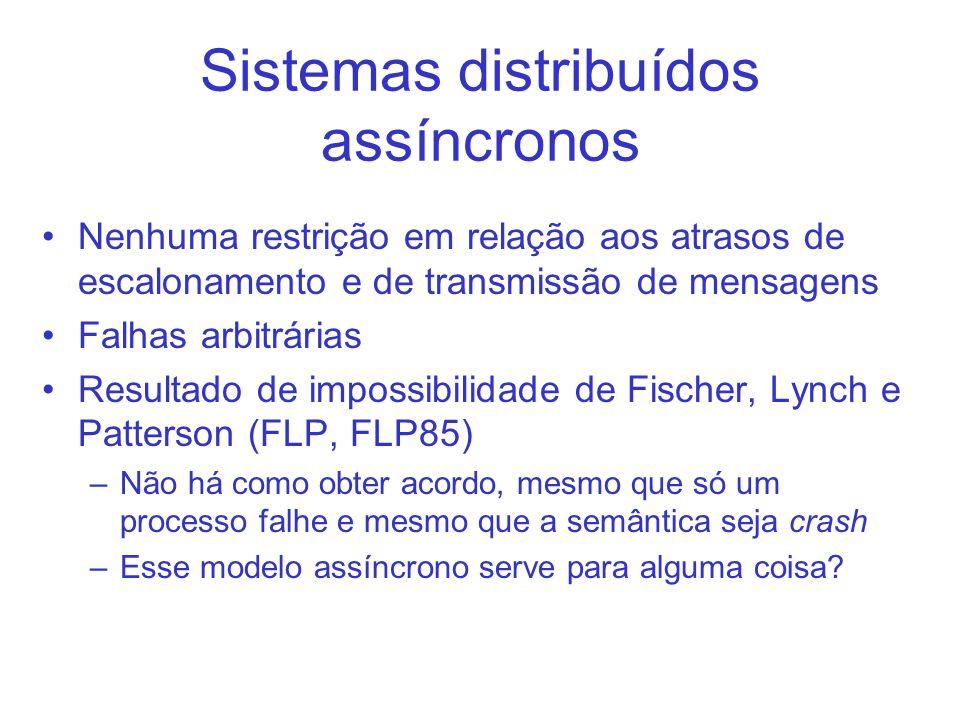 Sistemas distribuídos assíncronos