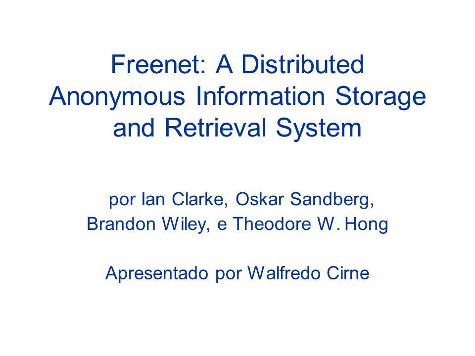 Apresentado por Walfredo Cirne