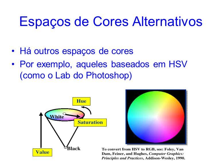 Espaços de Cores Alternativos