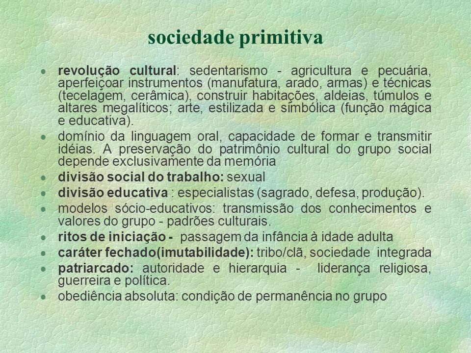 sociedade primitiva