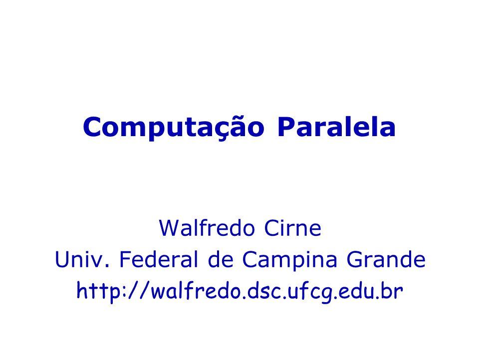 Univ. Federal de Campina Grande