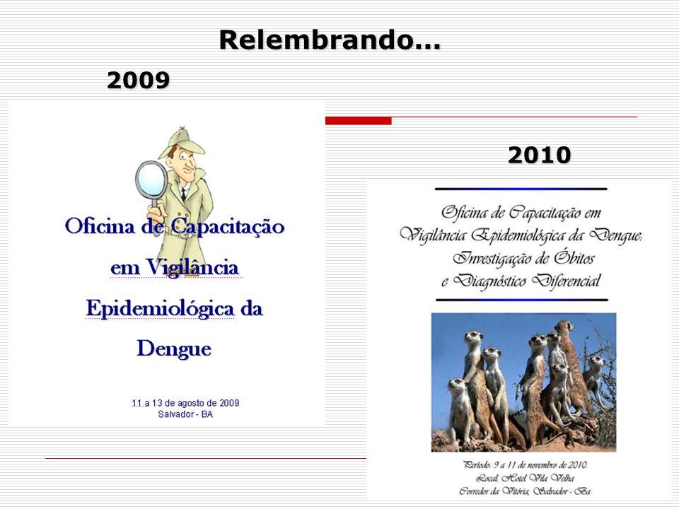 Relembrando... 2009 2010