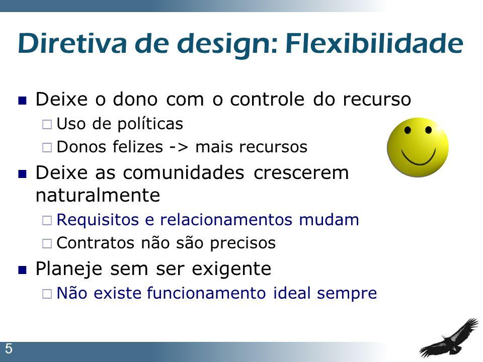 Diretiva de design: Flexibilidade