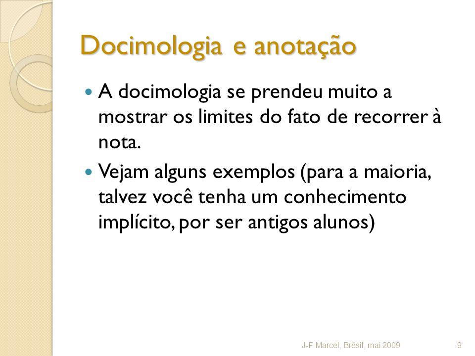 Docimologia e anotação