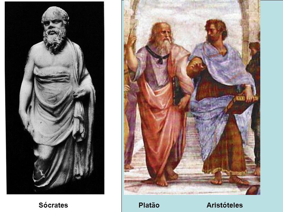 Sócrates Platão Aristóteles